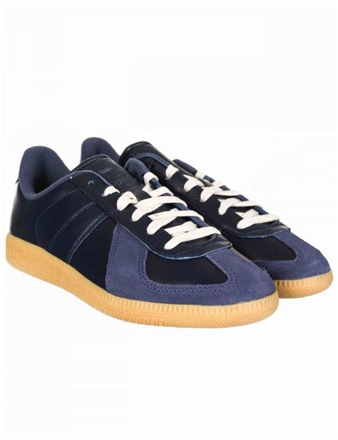adidas originals bw army trainers collegiate navy footwear from buddha store uk