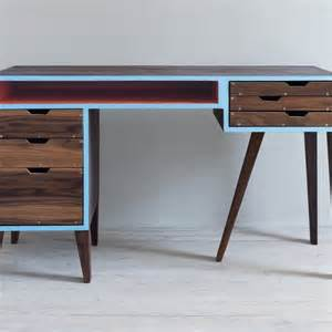midcentury modern desk made mid century modern desk by kevin michael burns