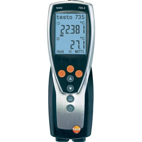 Thermometer Testo thermometer testo 735 2 200 up to 1370 176 c sensor type k pt100 from conrad