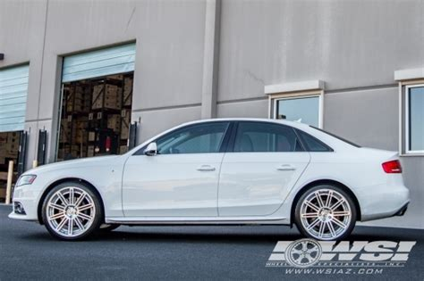 2013 audi a4 wheels 2013 audi a4 with 20 quot gianelle tropez in silver machined