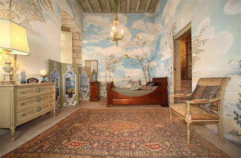 Ordinaire Salle De Bain Dans La Chambre #3: chambre-bleue-chateau-mauriac.jpg