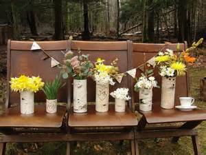 country wedding centerpieces ideas wedding vases decoration