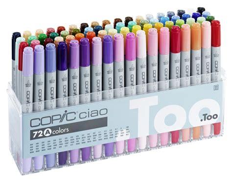 copic ciao marker 72a pen set tipped 72 unique