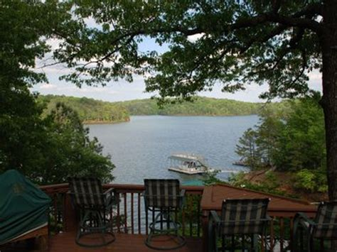 Lake Allatoona Cabins by Lake Allatoona Waterfront Cabin With Dock Vacation