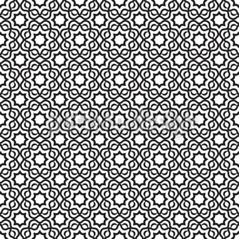 repeat pattern black and white islamic black and white repeating pattern