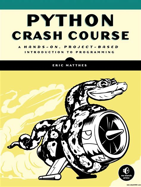python crash course a on project based introduction to programming python crash course a on project based
