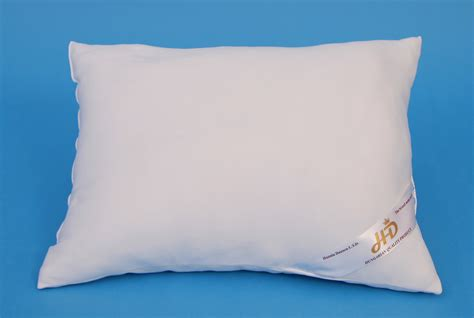 Cotton Filled Pillows by Polyester Filled Pillow In Cotton Cover Hunnia Daunen Kft