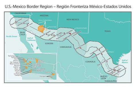 map texas mexico border rural border health introduction rural health information hub