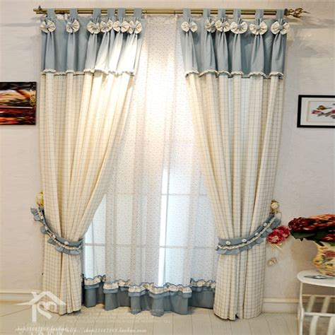 beautiful curtains blue living room curtains modern house
