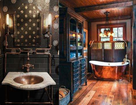 bathroom designs 2018 steunk bathroom decor ideas