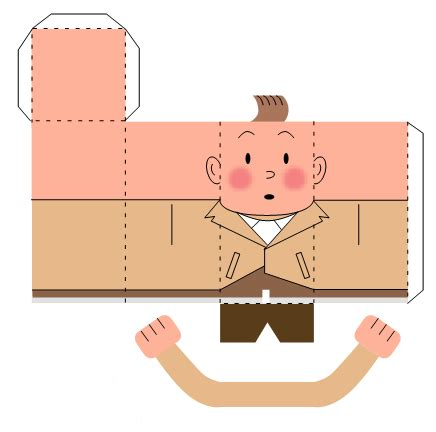 Paper Toys For To Make - interesting news printable foldable paper toys from