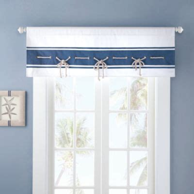 nautical valances buy window valances from bed bath beyond