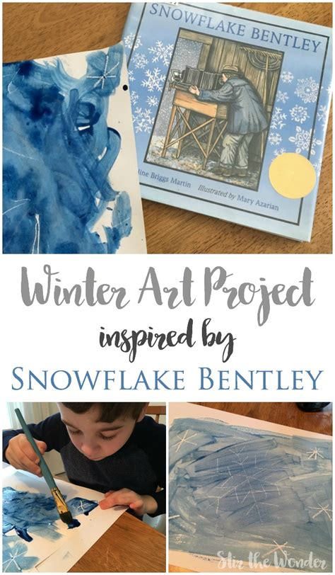 snowflake bentley book winter art project inspired by snowflake bentley stir