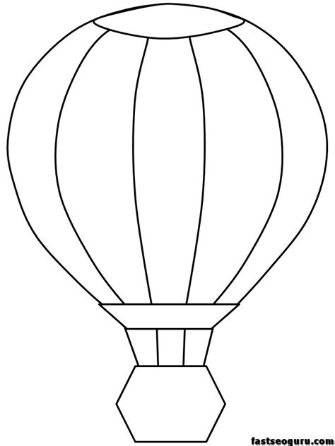 Free Coloring Pages Of Balloon Printable Balloons Coloring Pages