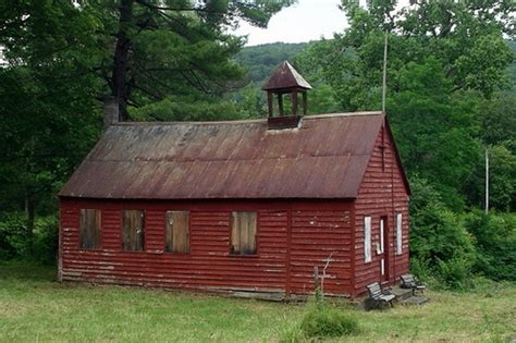 One Room Schoolhouse by Steepled One Room School House Flickr Photo