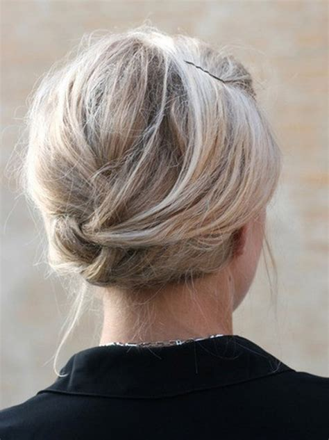 updo for thick neck 10 updo hairstyles for short hair popular haircuts
