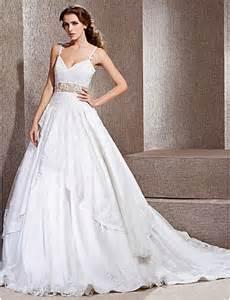 princess style wedding dresses ball gown chapel wedding