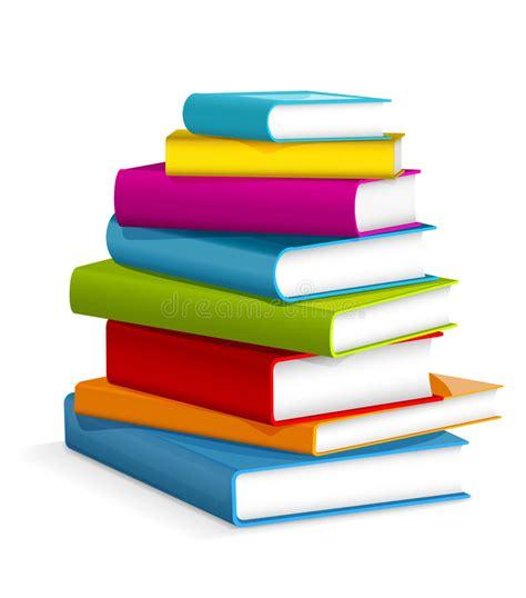 libri clipart pila di libri illustrazione vettoriale illustrazione di