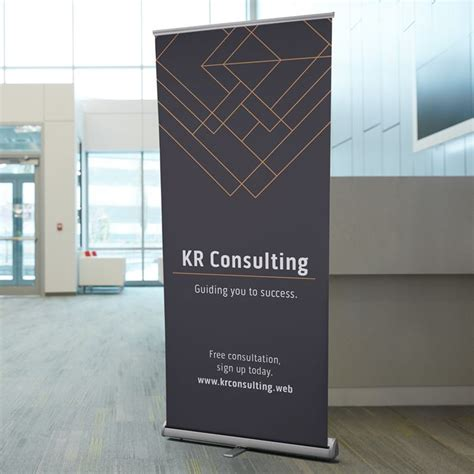 vistaprint banner design retractable banners retractable signs banner stands