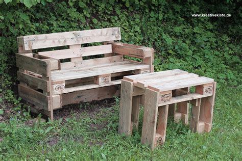 tisch aus paletten selber bauen fixias gartenbank und tisch selber bauen 141204