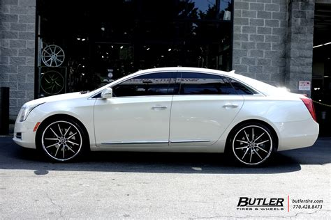 cadillac xts wheels cadillac xts with 22in asanti abl5 wheels exclusively from