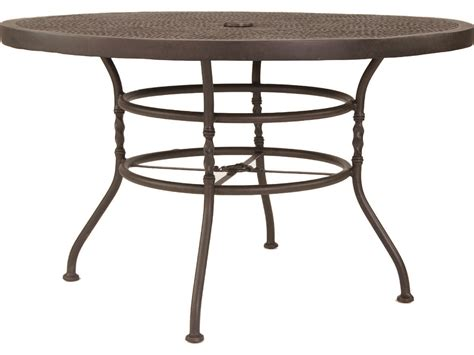 50 Dining Table Castelle Veranda Cast Aluminum 50 Dining Table Pfzcd48