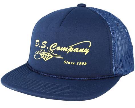 Topi Trucker Oclock Navy supplier trucker navy snapback caps hatstore co uk