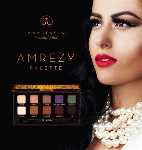 Makeup Beverly amrezy palette the rich makeup artists and beverly