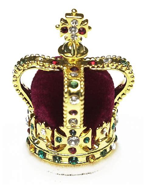 Royal Crown 3811 Swarovski Gold Original st edward s crown collectors edition crowns regalia historic royal palaces uk