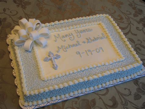 Baptism Cakes by Baptism And Christening
