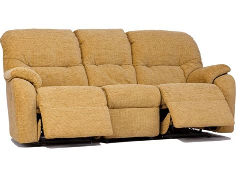 g plan mistral soft cover 3 seater recliner sofa