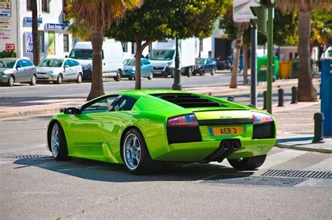 Neon Green Lamborghini Neon Green Lamborghini Cool Stuff