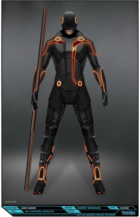 design legacy art tron legacy design costume 04 nerd reactor