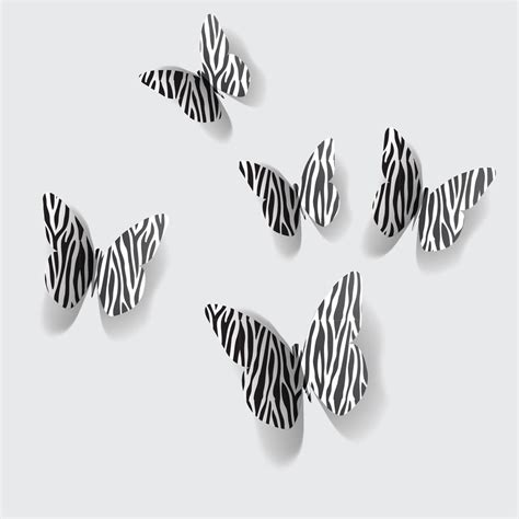 Zebra Print Stickers For Walls 100 wall decors how to make wall decorations with
