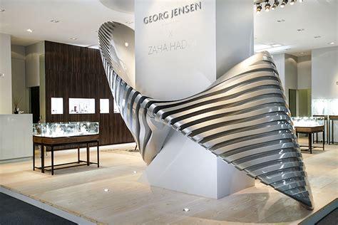 Zaha Hadid Installation Echoes Jewellery Line For Georg Jensen GEMKonnect