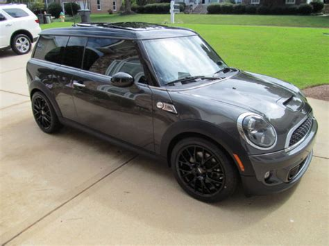 2011 mini cooper clubman s dual sunroofs sport pkg heated seats