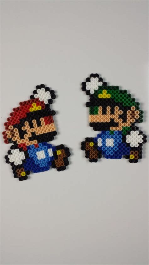 perler bead mario best 25 hama mario ideas on hama mario