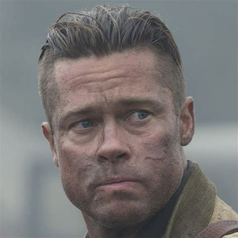 fury guys haircuts mens haircuts brad pitt fury haircuts models ideas