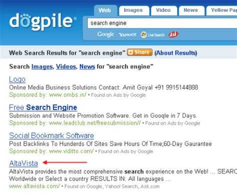 House Search Engines by Dogpile Web Search Engine Html Autos Weblog