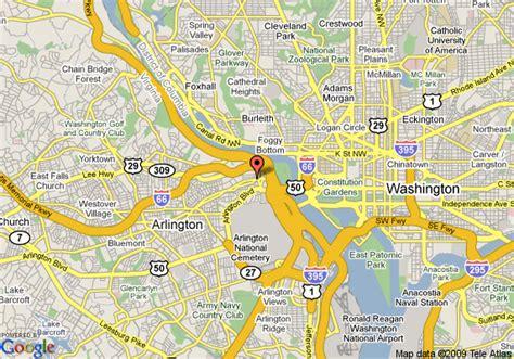 map of hyatt arlington arlington