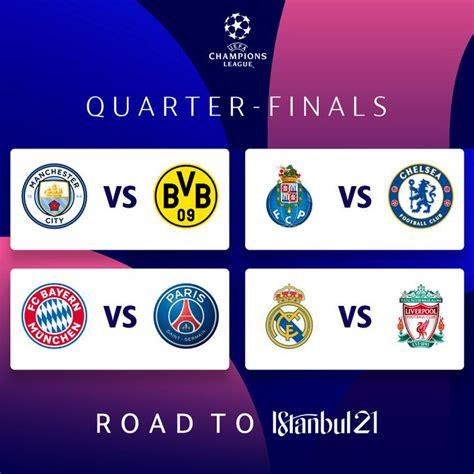 uefa champions league quarter final draw revealed real