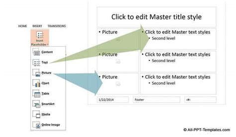 layout master powerpoint definition how to custom master slide layout in powerpoint