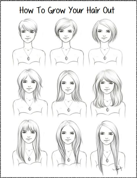 how to grow out short hair into a bob growing out haircuts a 5 3 perspective