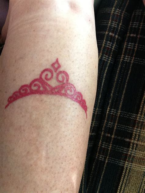 princess tattoo designs i want a tiara after the 1 2 marathon disney