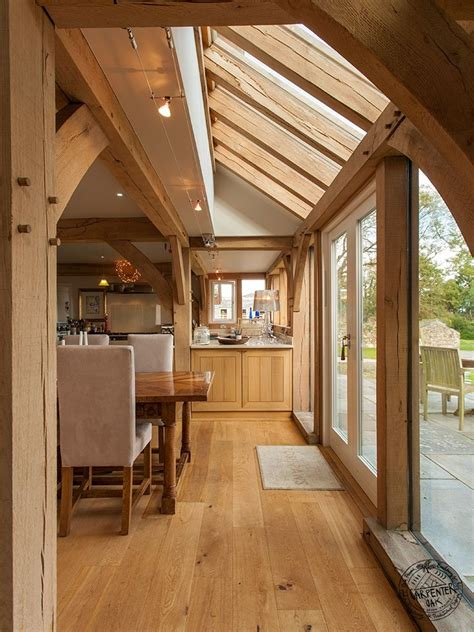 Open Plan Living Floor Plans by Eco Timber Frame Open Plan Timber Frame House