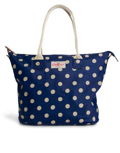 Tote Cath Kidston cath kidston zipped tote bag in blue royalblue lyst