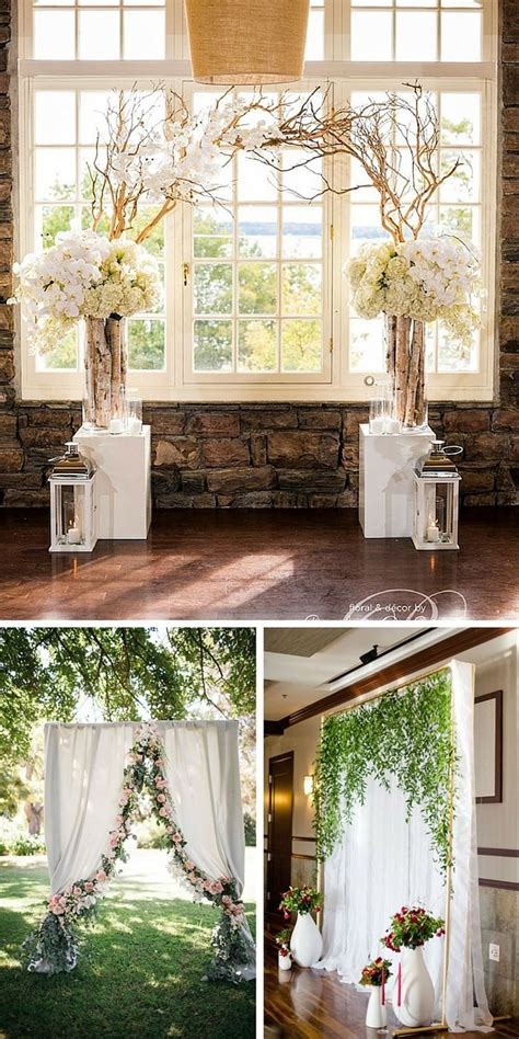 Wedding Background Ideas by 25 Best Ideas About Wedding Backdrops On