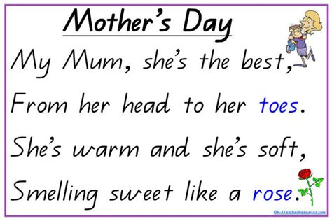 s day verses lyrics best happy mothers day poems quotes images for teachers
