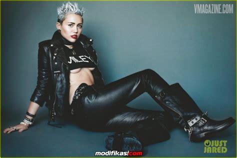 Cyrus Terbaru foto miley cyrus terbaru di v magazines