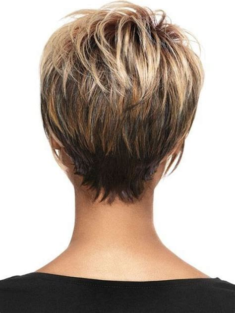 hairstyles from the back view short and young short pixie haircuts back view picture popular long